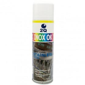 Limpeza de metais Inox Ok