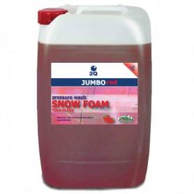 Shampoo Espuma Neve Rosa Jumbo Red