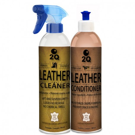 Leather Cleaner & Conditoner Kit