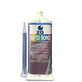Cola bicomponente preta Rapid Bond 240